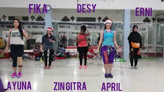 Zumba with Zin Gita & Friends - Fogo ZIN72 - Zumba Electonic
