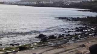 Mirando mi Mar... El oceano Atlántico que rodea mi isla de Lanzarote...