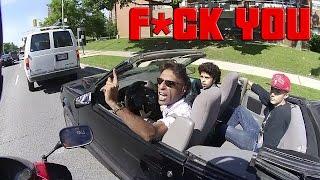 Road Rage at Car Driver  ...