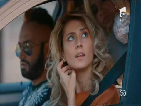 Daniela este oprită în trafic de un polițist de la rutieră, Baieti de oras