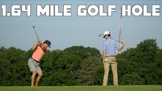 Playing a 2,886 Yard Golf Hole