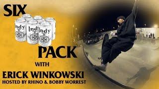 Six Pack with Erick Winkowski: LIVE Tampa Pro 2017 | Hosted by Bobby Worrest and RHINO