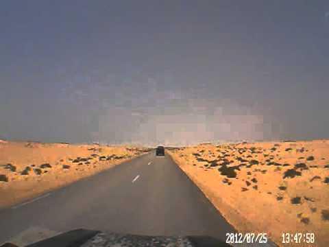 Dash cam video of Morocco Border to Nouadhibou (Mauritania) – part 2