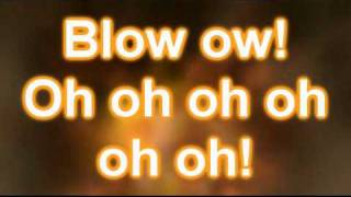 Ke$ha (Kesha) - Blow (Official Lyrics on Screen Video)