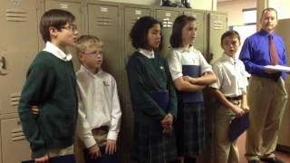 JECA Students - King Alfred's War Song