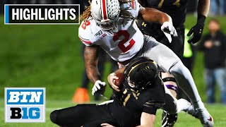 Highlights: Fields Tosses 4 TDs in Win vs. Wildcats   Ohio State at Northwestern   Oct. 18, 2019