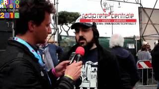Intervista al Concerto 1 Maggio 2016 Roma -  TOMMASO PIOTTA