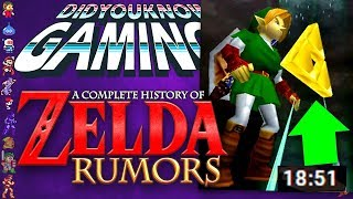 A Complete History of Zelda Rumors - Did You Know Gaming? Feat. Remix (Part 1)