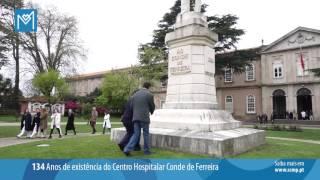Centro Hospitalar Conde de Ferreira celebra 134 anos de existência