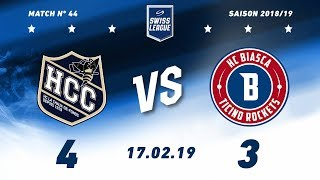 17.02.2019 HC La Chaux-de-Fonds - HC Biasca Ticino Rockets (4-3)