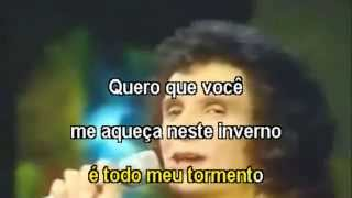 Roberto Carlos -  Quero que tudo vá pro inferno - Karaoke