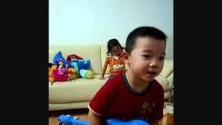 孩子唱粤语歌 Chinese Boy sings 5