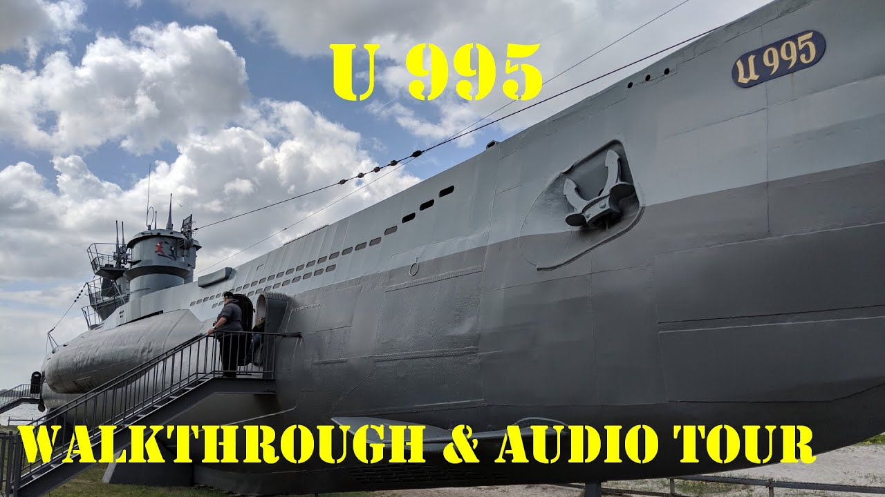 German WWII Submarine Walkthrough & Tour