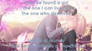 Telling The World Taio Cruz Lyrics+Subtitulos