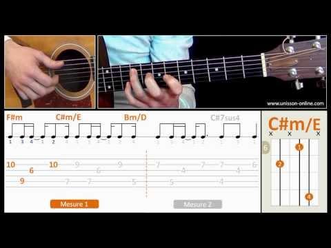 Comment jouer Shape of my heart de Sting à la guitare