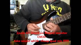 sound Zoom G5 - Gilmour-  Another brick in the wall width=