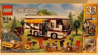 LEGO Creator Summer 2016: Vacation Getaways - Camper 31052!