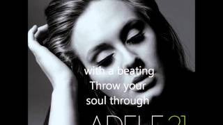 Adele-Rolling in the Deep Lyrics