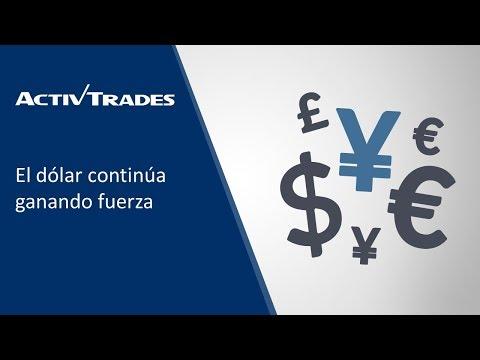 En el nuevo video de Activtrades veremos como el dólar continúa ganando fuerza