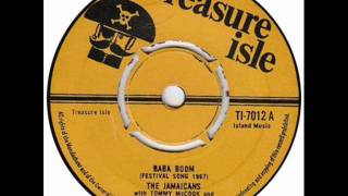 The Jamaicans with Tommy McCook and the supersonics -  Ba ba boom