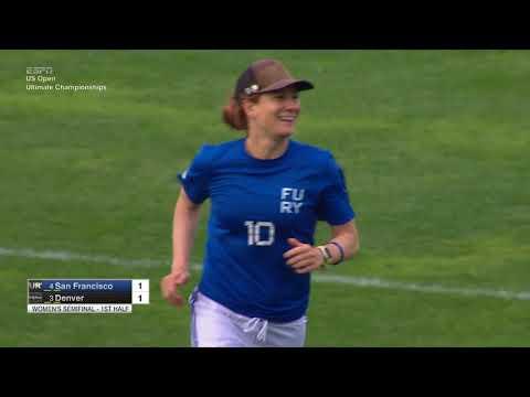 Video Thumbnail: 2017 U.S. Open Club Championships, Women's Semifinal: Denver Molly Brown vs. San Francisco Fury
