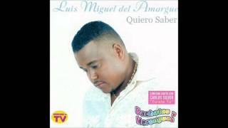 Luis Miguel Del Amargue - Fuiste Tú (ft. Carlos Silver) (Bachata 2005)