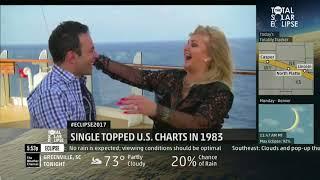 Eclipse 2017 - Bonnie Tyler Live Interview