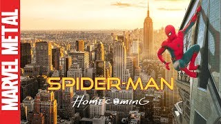 Spider-man Homecoming Opening Theme Cover
