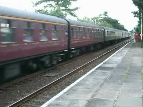 60009 roars through Colwyn Bay 19.8.2012