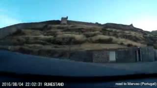 dashcam - spre Marvao - Portugalia (road to Marvao - Portugal)