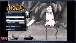 Gangplank the Saltwater Scourge in Top Lane Troubles - Custom Login Screen League of Legends