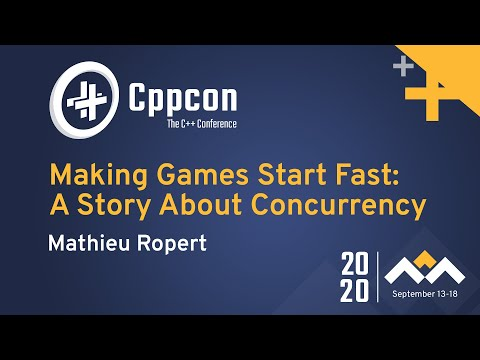 Making Games Start Fast: A Story About Concurrency