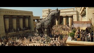 "Trojan Horse clip from ""Troy"" HD"