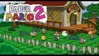 Thousand Year Door Oddities: Exploring Paper Mario's 64 House + Unused 64 Partners