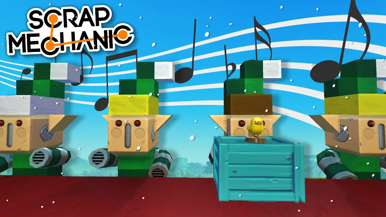 Moonbo - A Very Merry Christmas the Musical RIDE! - Scrap Mechanic Best Builds