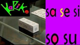 Tutorial: Aprendiendo la sílabas sa se si so su  ( Ejercicio 8)  CUU MX