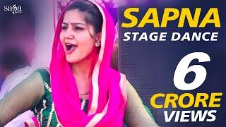 सपना को ऐसा डांस नहीं करना था    New Sapna Dance 2018   Stage Dance, Haryanvi Song   Sapna Chaudhary width=