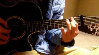 Clannad OST - Shionari [Roaring Tides] guitar cover (solo)