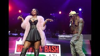 No Frauds By Nicki Minaj And Lil Wayne Live Performance At The Birthday Bash 2017