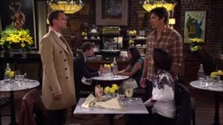 Barney se declarando para Robin- HIMYM
