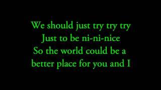 Try try try- Jason Mraz Lyrics