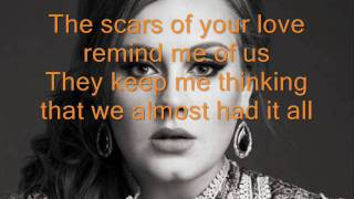 Rolling in the deep Adele (letra)