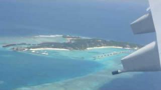 Landing at Male' Maldives Airport