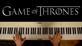 Game of Thrones (Piano cover) - Main Theme (+ sheets)
