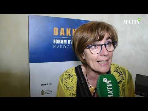 Video : Forum d'Affaires Maroc-France à Dakhla : Déclaration de Marie-Christine Verdier-Jouclas, vice-présidente du groupe d'amitié France-Maroc