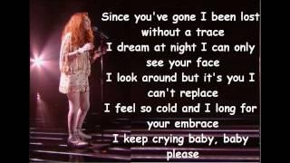 Janet Devlin - Every Breathe You Take (With Lyrics) Live Show 4
