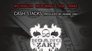 Wiz Khalifa Ft. Nicki Minaj, Tyga & Drake - Cash Stacks [HD]