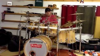 Brothers Osborne stay a little longer (drum cover)