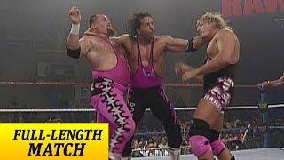 FULL-LENGTH MATCH - Raw - Bret Hart & British Bulldog vs. Owen Hart & Jim Neidhart width=