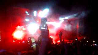 David Guetta - Falling To Pieces feat. Sia(Solar Summer Festival 2012 27July)